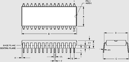 Dual in-line Package (DIP):MA2053
