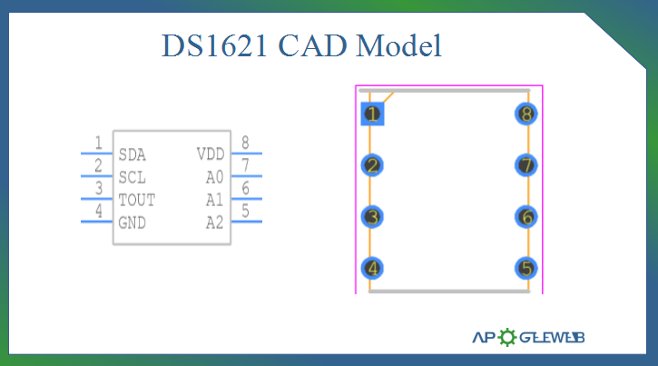 DS1621 CAD Model