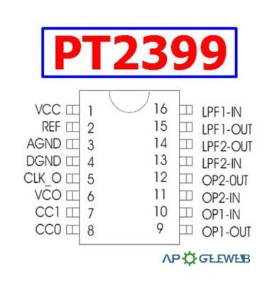 PT2399 Pinout