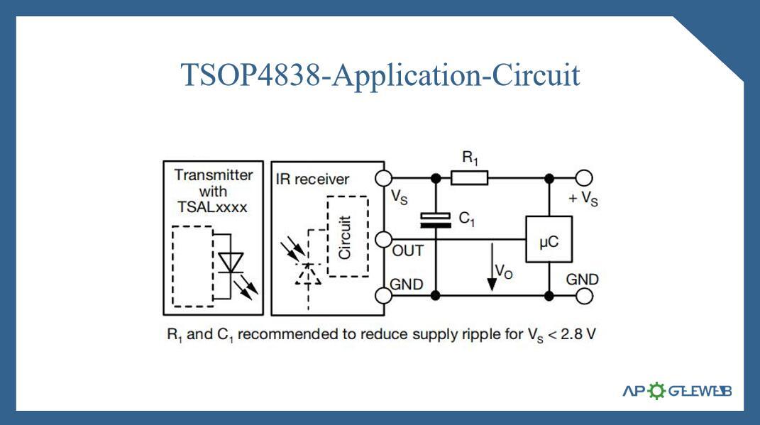 Figure-TSOP4838-Application-Circuit