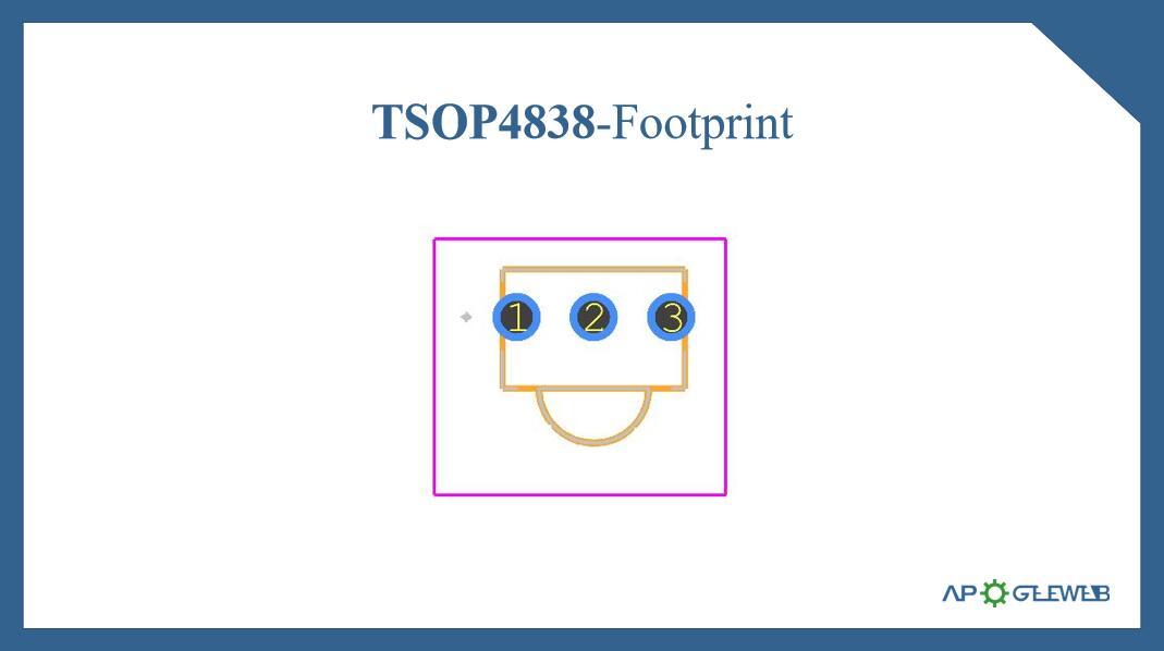 Figure-TSOP4838-Footprint