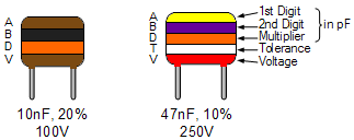 metalized polyester capacitor