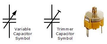 variable capacitor symbol