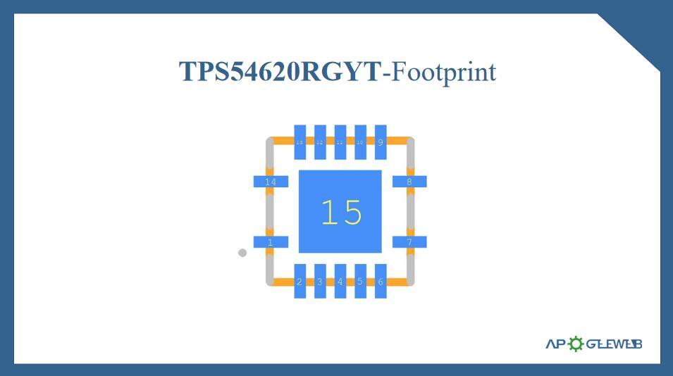 Figure-TPS54620RGYT-Footprint