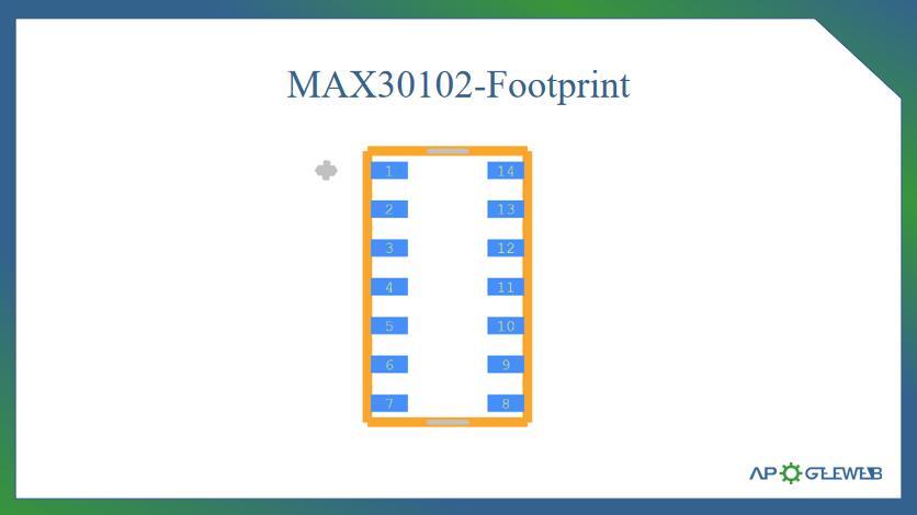 Figure-MAX30102-Footprint