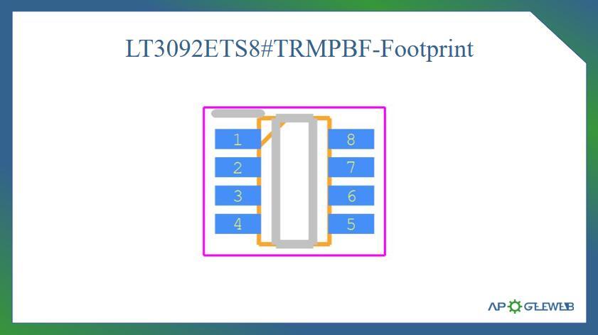 Figure-LT3092-Footprint
