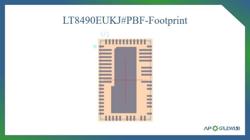 Figure-LT8490-Footprint