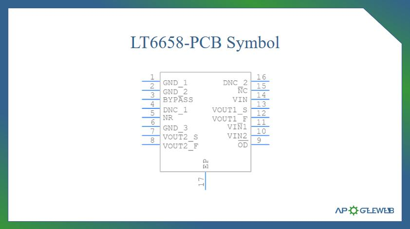 LT6658-PCB-Symbol