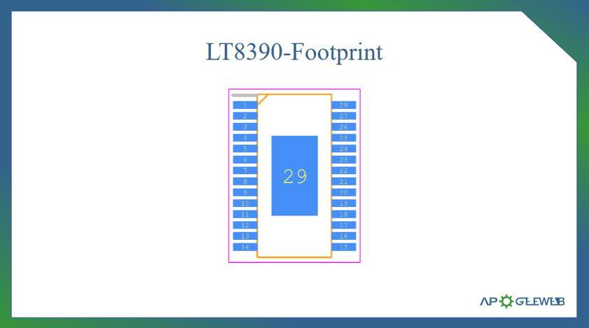 LT8390-Footprint